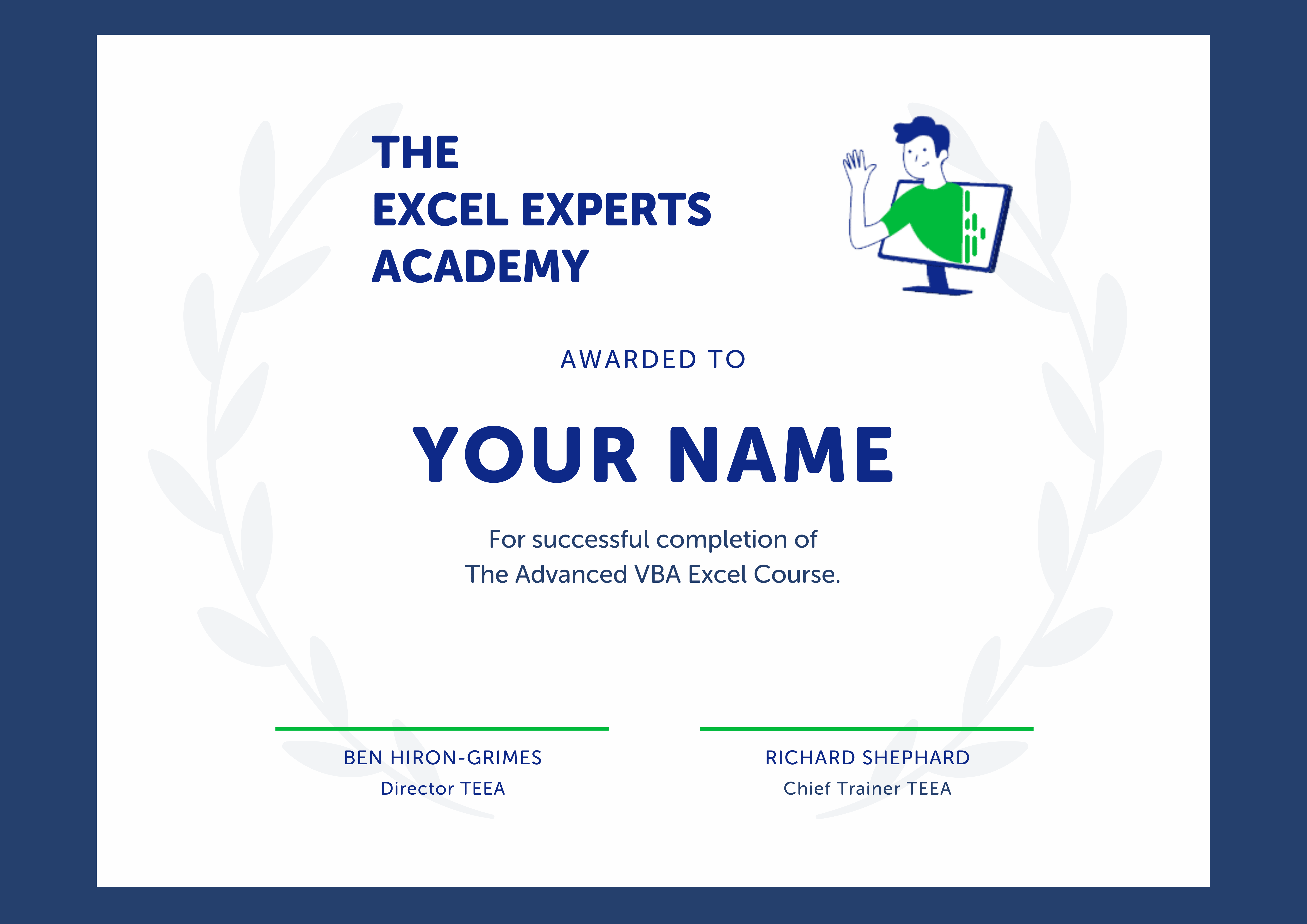 The Excel experts academy min